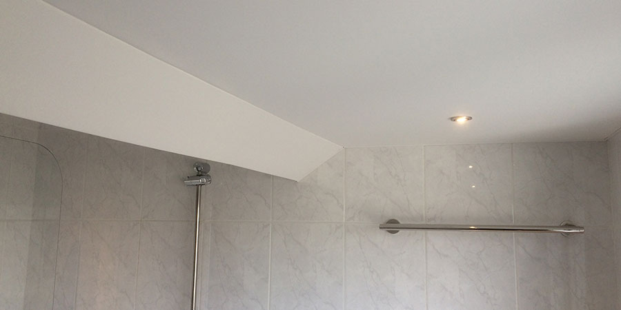 Ikea Badkamer Open Kast ~ Plameco plafond in badkamer plaatsen  Geers Zonwering