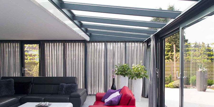 Pallazzo aluminium veranda s bij eigen huis en tuin for Bouwtekening veranda eigen huis en tuin