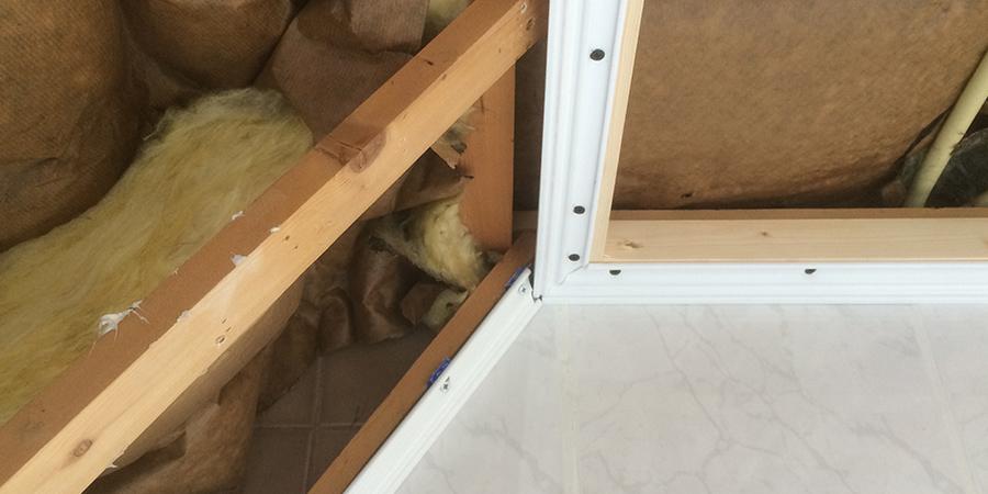 Zonwering In Badkamer ~ Plameco plafond in badkamer plaatsen  Geers Zonwering
